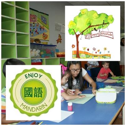 clases de chino para niños de 2 a 12 años.