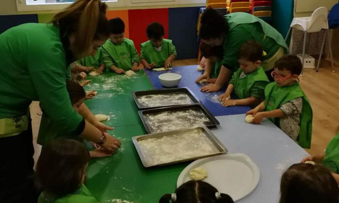taller cocina educación infantil