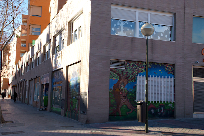 Escuela Infantil Madrid - El Bosque Encantado - fachada3